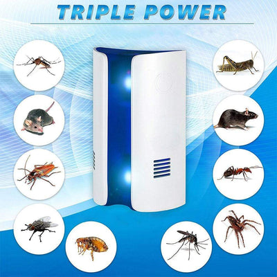 Ultrasonic Electronic Insect Repeller