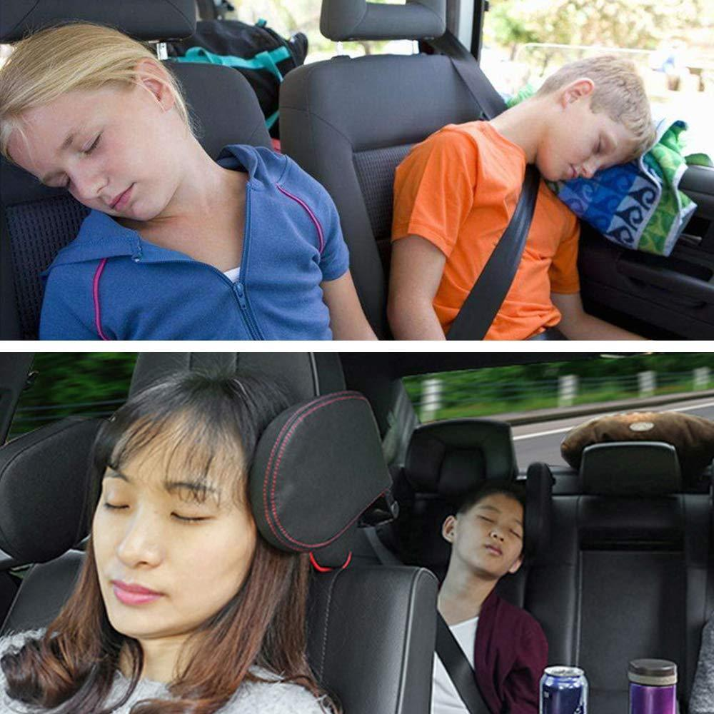 UltraX® Car Seat Headrest, The Best Neck Support Solution For Kids And Adults. {Patented Product}