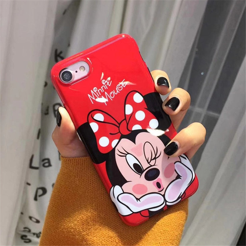 coque iphone x 3d minnie