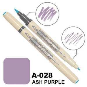 DELETER Neopiko 3 Ash Purple (A-028) Dual-tipped Water-based Fabric Marker