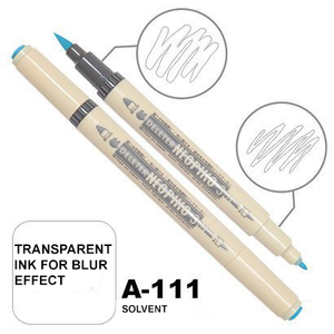 DELETER Neopiko 3 Solvent (A-111) Dual-tipped Water-based Fabric Marker
