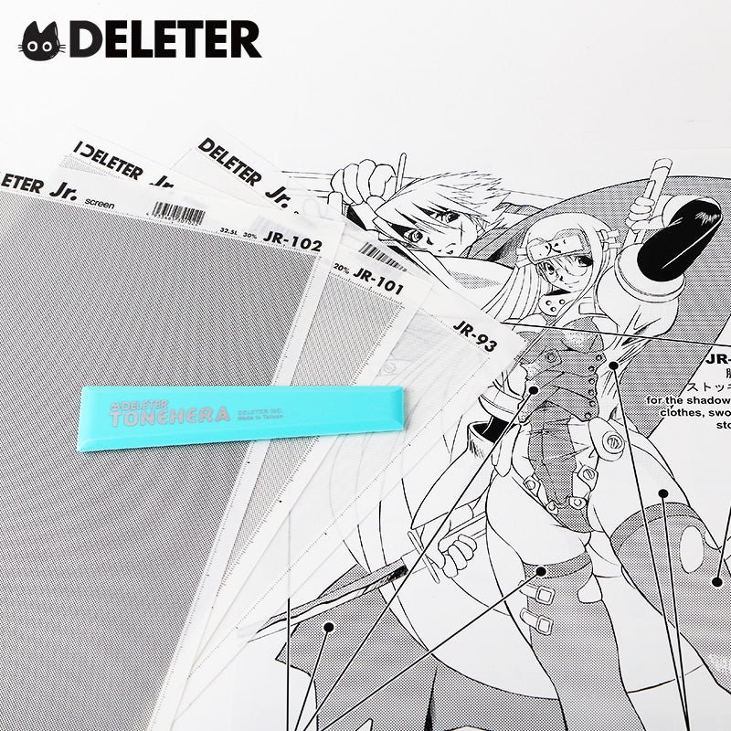 DELETER Manga Toolset: Beginners Tone Kit A (with sample pictures)