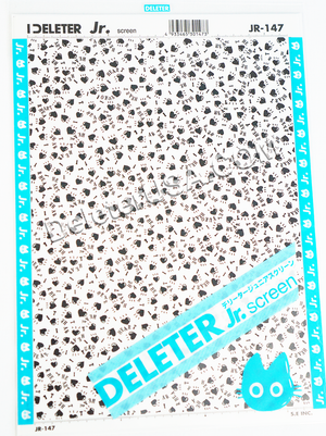 DELETER Jr. Screentone - 182 x 253mm - JR-147 (Heart Pattern)