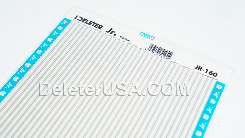 DELETER Jr. Screentone - 182 x 253mm - JR-160 (Vertical Dotted Lines Pattern)