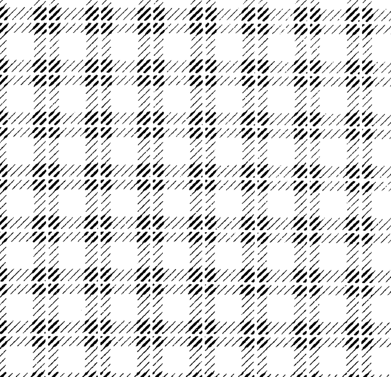 DELETER Jr. Screentone - 182 x 253mm - JR-162 (Plaid Forward Slash Pattern)