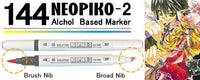 DELETER Neopiko-2 Dual-tipped Alcohol-based Marker - Golden Orange (531)