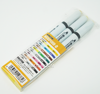 DELETER Neopiko-2 Dual-tipped Alcohol-based Marker - Yellow Set
