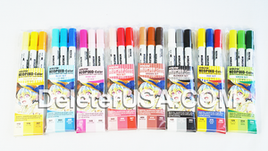 DELETER NEOPIKO-Color Red Set Alcohol-based Dual Tipped Marker