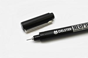 DELETER Neopiko Line 2 Multi-liner Pen - 0.1 mm - Black Ink