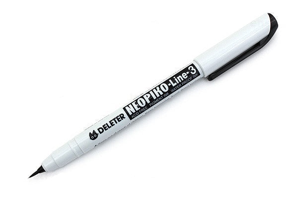 DELETER Neopiko-Line 3 - Brush - Multi-Liner Pen (Black)