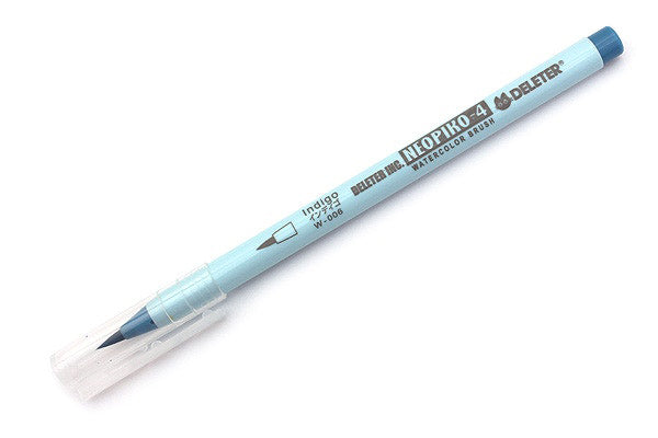 DELETER Neopiko-4 Watercolor Brush Pen - Indigo (W-006)