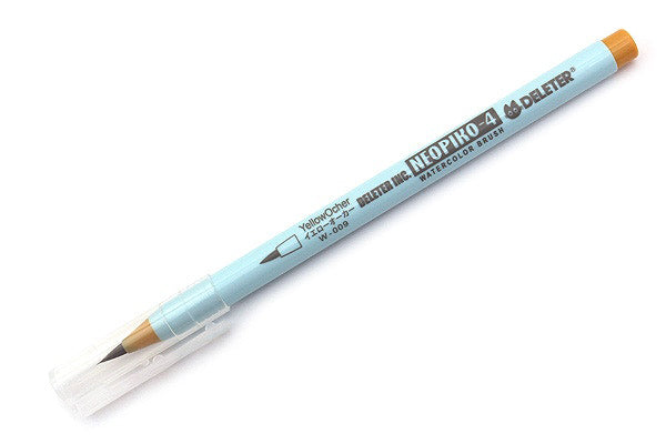 DELETER Neopiko-4 Watercolor Brush Pen - Yellow Ochre (W-009)