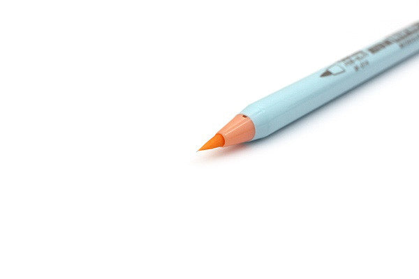 DELETER Neopiko-4 Watercolor Brush Pen - Powder Orange (W-014)