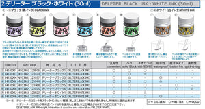 DELETER Black 3 Manga Ink - Waterproof Matte - 30ml Bottle