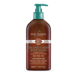 Coconut Mint Body Wash 500ml - EcoClique