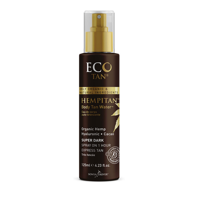 Hempitan Body Tan Water 125ml - EcoClique