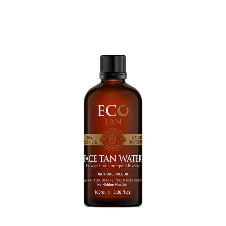 Face Tan Water 100ml - EcoClique