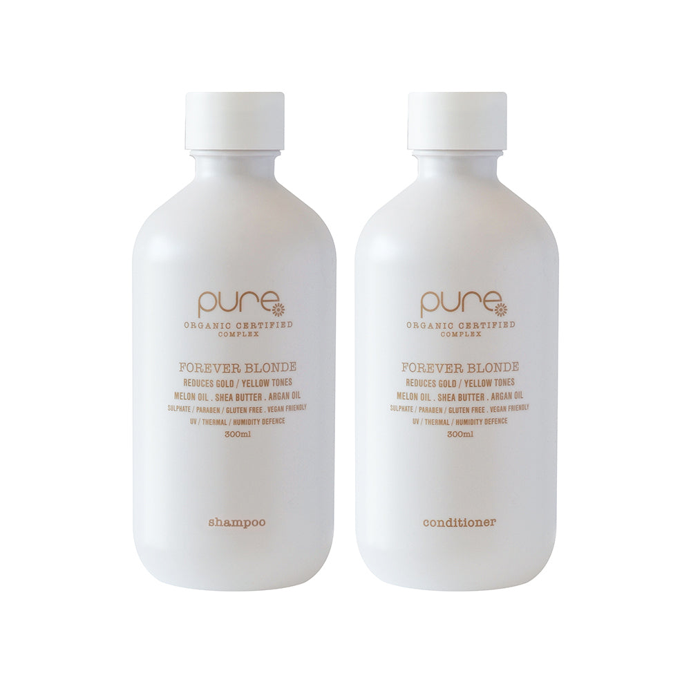 Forever Blonde Shampoo and Conditioner 300ml - EcoClique