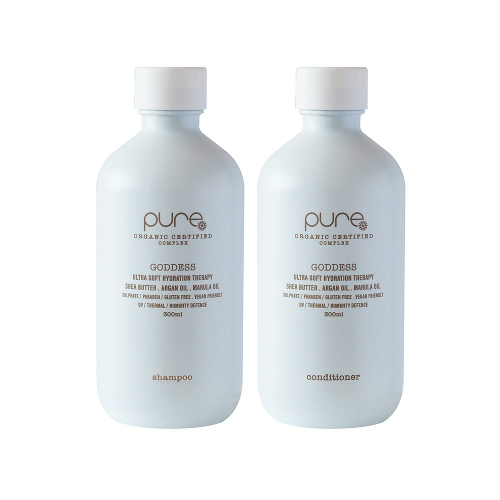 Goddess Shampoo and Conditioner 300ml - EcoClique
