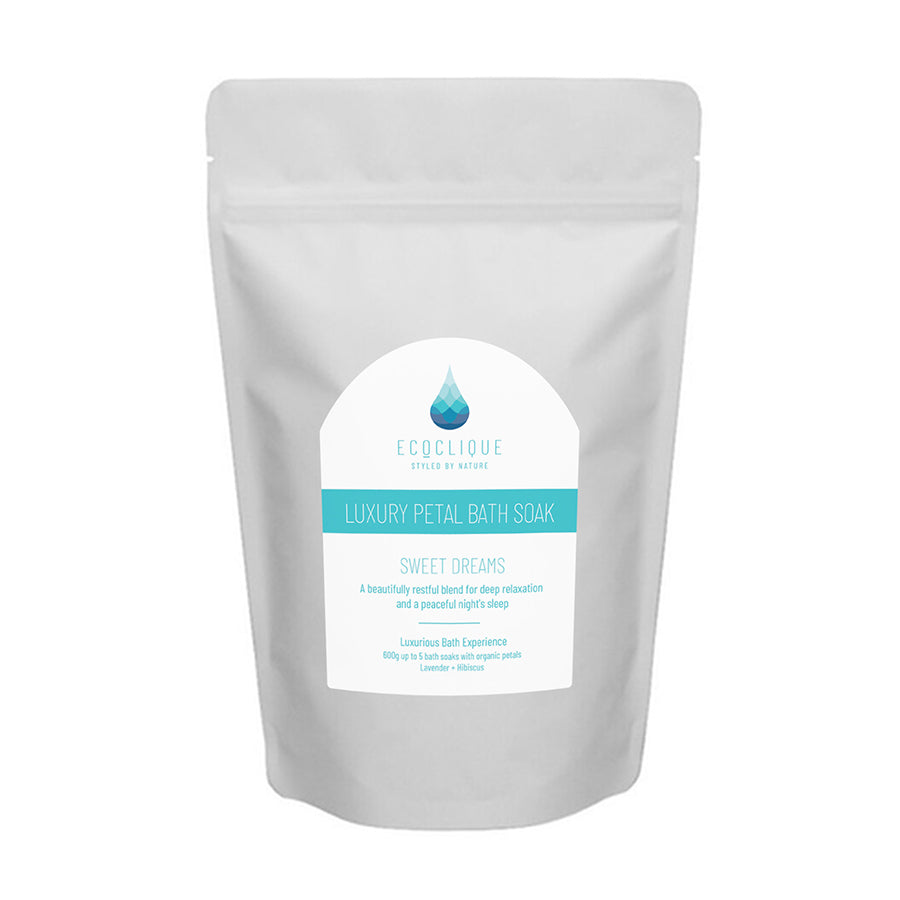 Sweet Dreams - Luxury Petal Bath and Foot Soak 600g - EcoClique