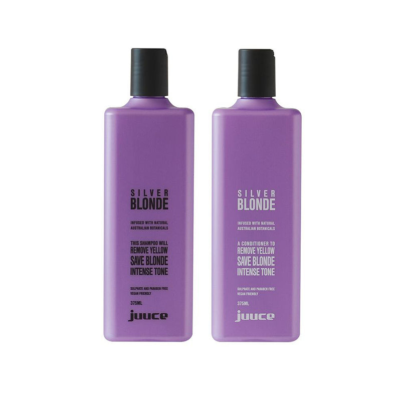 Silver Blonde Shampoo and Conditioner 375ml - EcoClique