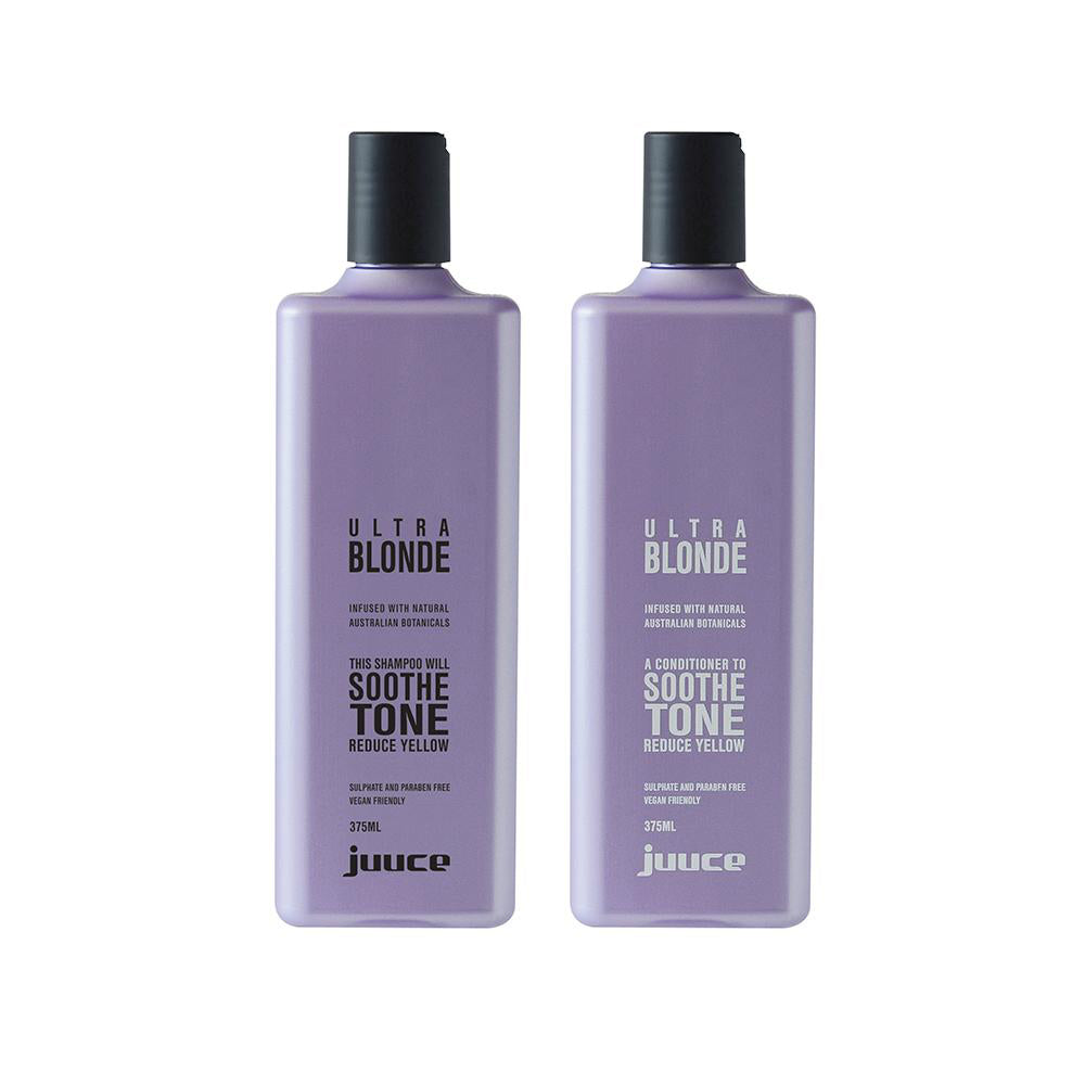 Ultra Blonde Shampoo and Conditioner 375ml - EcoClique
