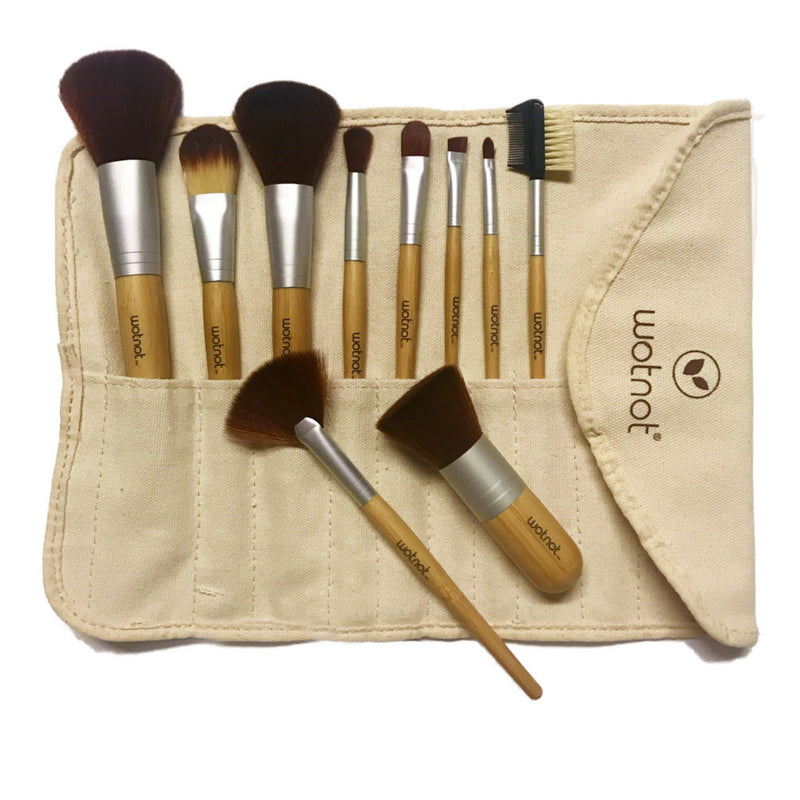 Vegan Makeup Brush Set - EcoClique