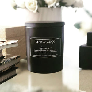 Black Deluxe Candle 400g - Citra & Sin PRE-ORDER - EcoClique