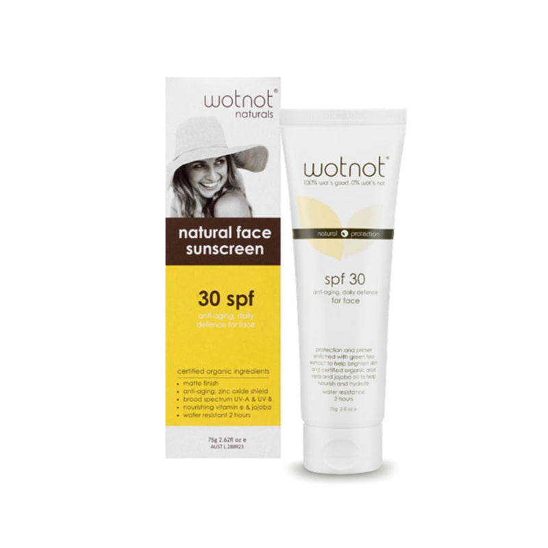 30 SPF Anti-Aging Facial Sunscreen & Primer 75g - EcoClique