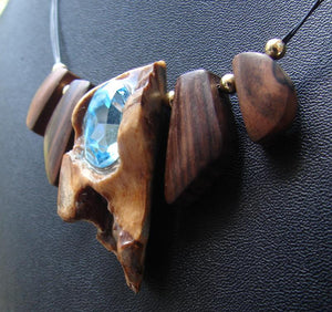 Laguna Beach Drift Wood Necklace II