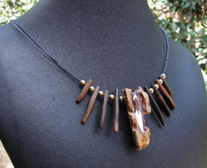 Laguna Beach Drift Wood Necklace