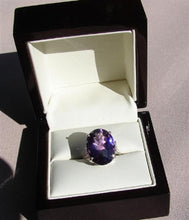 Amethyst Oval Cut Ring
