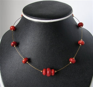 Apple Coral Choker