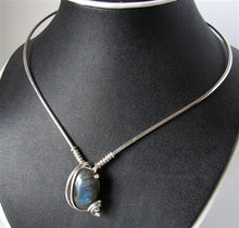 Labradorite Neck Wire