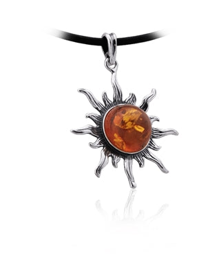 Amber Sun Necklace
