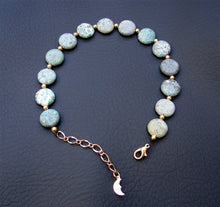 African Turquoise Anklet