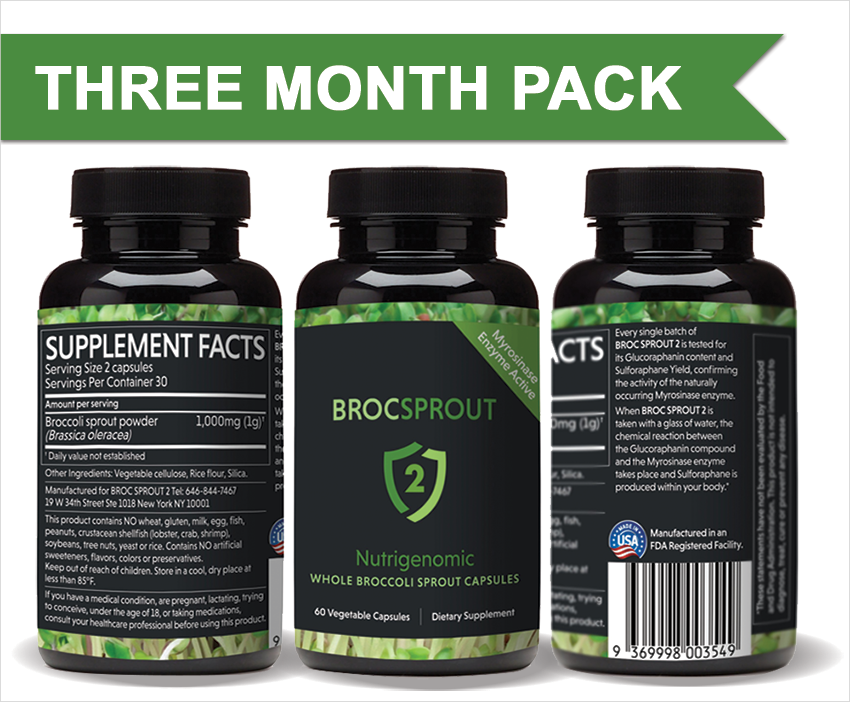 BROCSPROUT 2 - 180 capsules