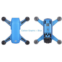 Load image into Gallery viewer, DJI SPARK Carbon Fiber Full Skin Vinyl Sticker