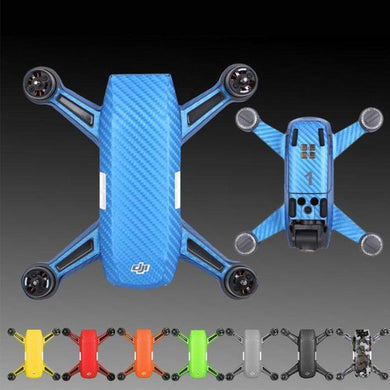 DJI SPARK Carbon Fiber Full Skin Vinyl Sticker