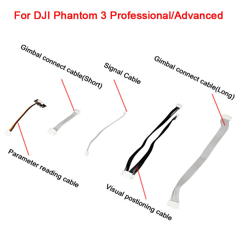 DJI Phantom 3 Pro/Adv PTZ Special Adapter Part Cable Set