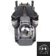 DJI Mavic Pro Clear Gimbal Cover - Aftermarket