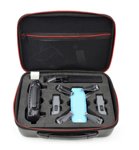 Load image into Gallery viewer, DJI SPARK uav carbon fibergrain receiving bagwaterproof handbag