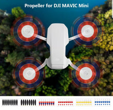 Load image into Gallery viewer, Mavic Mini Low Noise Propellers 8pcs - Gold Tip