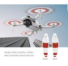 Load image into Gallery viewer, Mavic Mini Low Noise Propellers 8pcs - White, Blue and Red