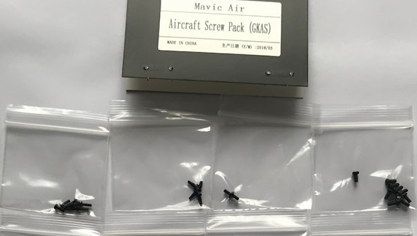 DJI MAVIC AIR aircraft screw pack