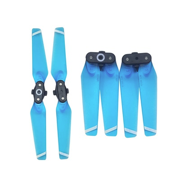 DJI spark 4730F propeller transparent blue