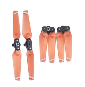DJI spark 4730F propeller transparent Orange