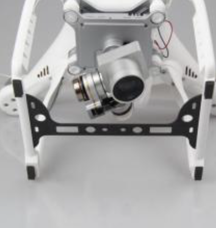 DJI Phantom 3 Std PAN carbon fiber protection board