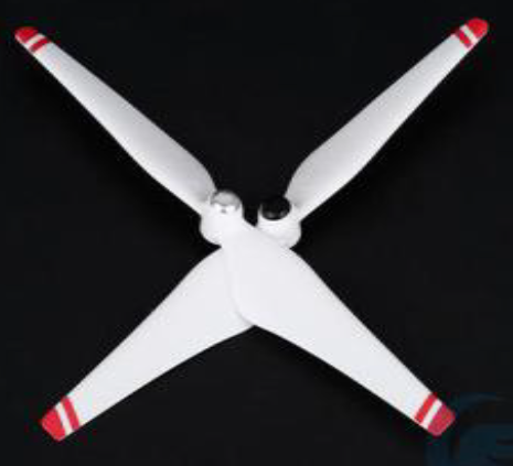 DJI Phantom 3 9450 red tip propellers