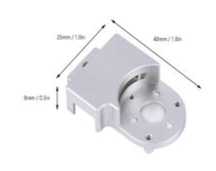 DJI Phantom 3 Std Gimbal Side Cover